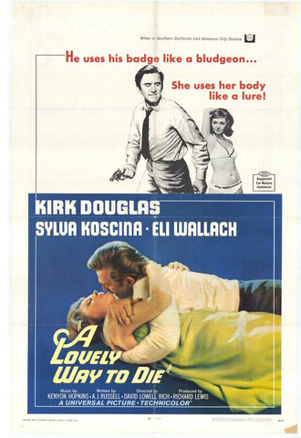 A Lovely Way To Die (1968) - Kirk Douglas  DVD