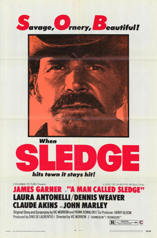 A Man Called Sledge (1970) - James Garner  DVD