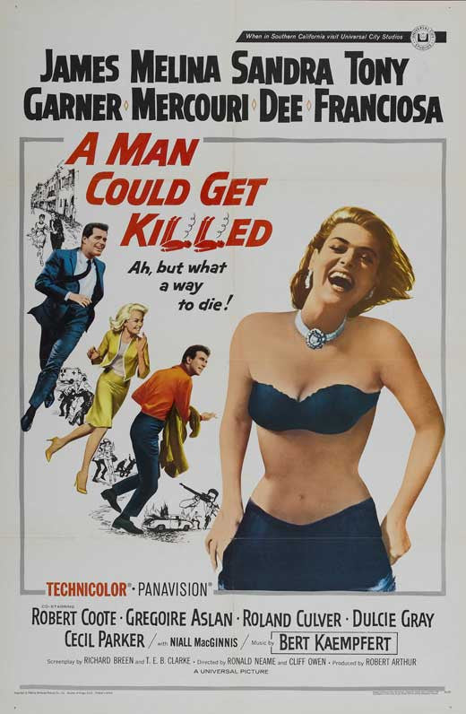 A Man Could Get Killed (1966) - James Garner  DVD