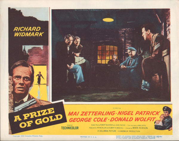 A Prize Of Gold (1955) - Richard Widmark  DVD