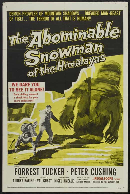 The Abominable Snowman (1957) - Peter Cushing