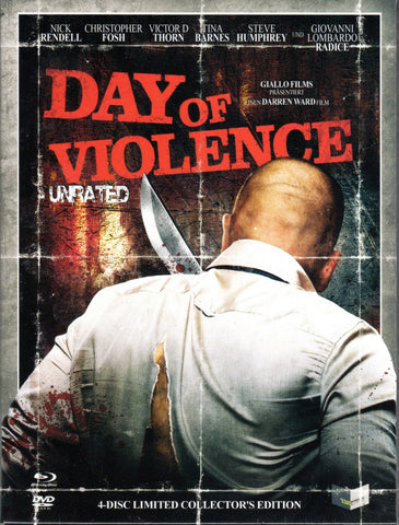 A Day Of Violence (2010) - Darren Ward  Limited Edition Mediabook  Blu-ray + DVD
