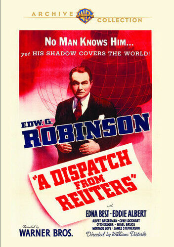 A Dispatch From Reuters (1940) - Edward G. Robinson  DVD