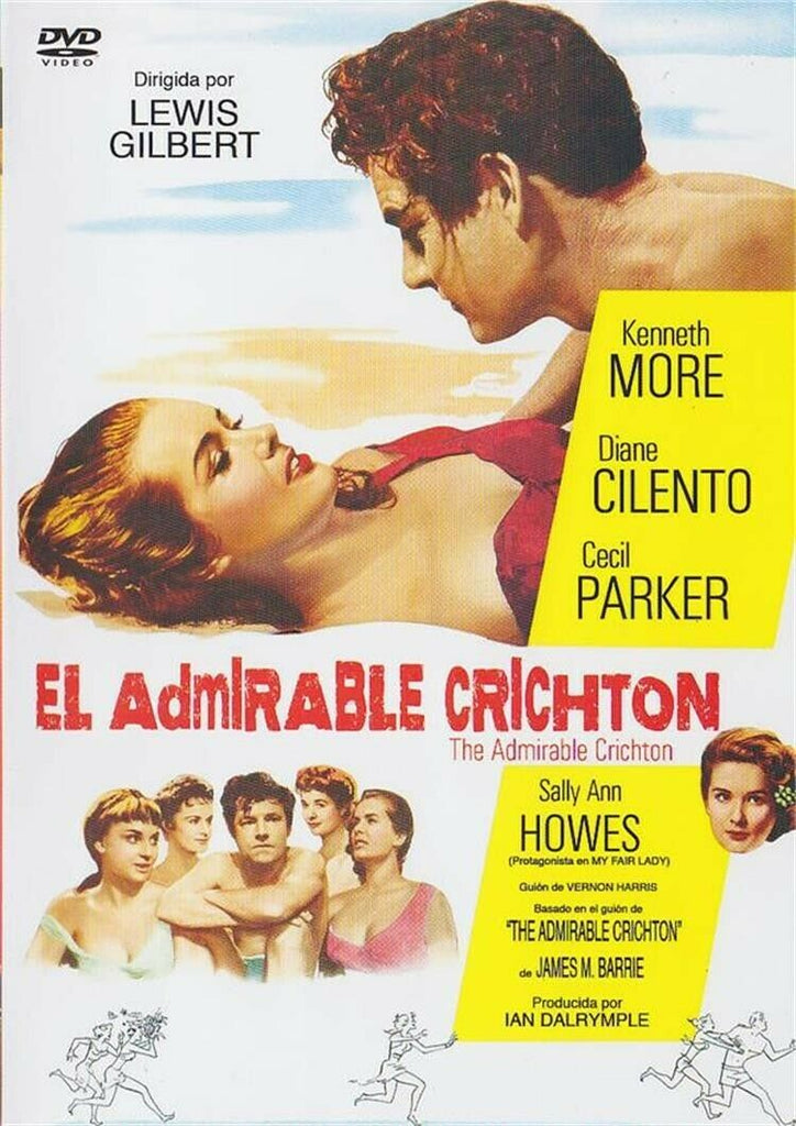 The Admirable Crichton (1957) - Kenneth More  DVD