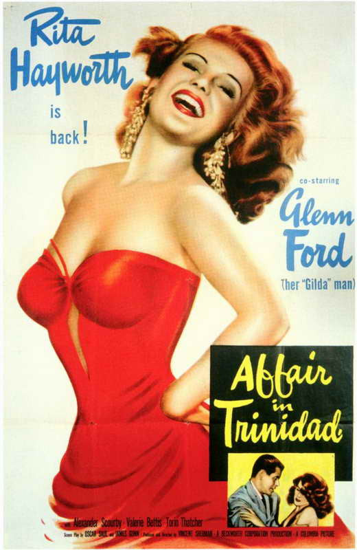 Affair In Trinidad (1952) - Rita Hayworth  DVD