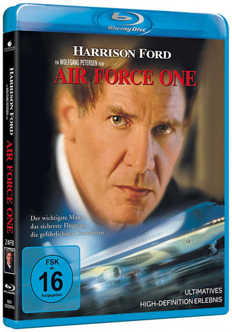 Air Force One (1997) - Harrison Ford  Blu-ray  codefree