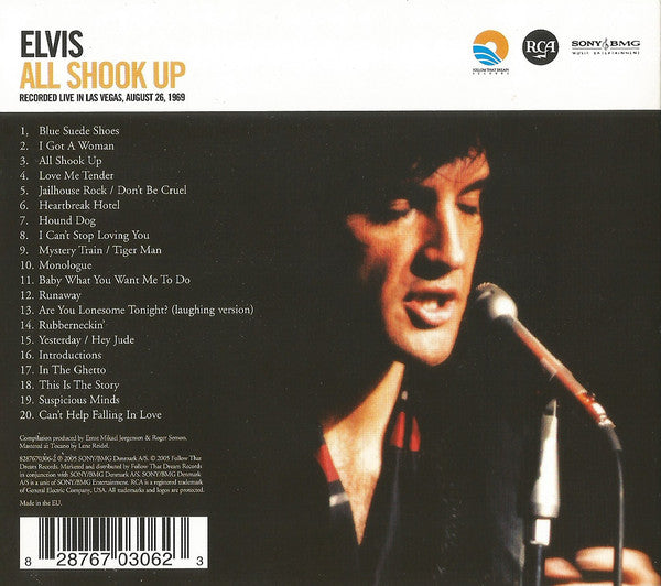 Elvis Presley - All Shook Up  FTD CD