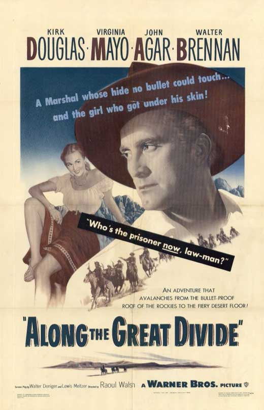 Along The Great Divide (1951) - Kirk Douglas  DVD