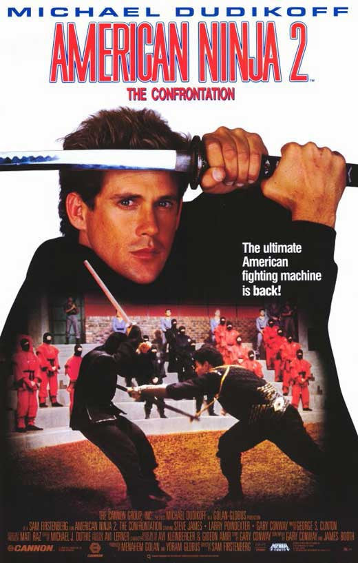 American Ninja 2 : The Confrontation (1987) - M. Dudikoff  DVD
