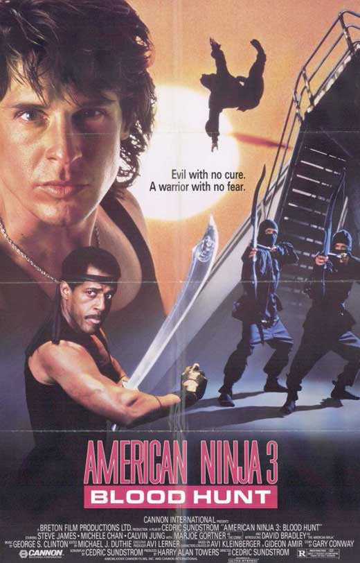 American Ninja 3 : Blood Hunt (1989) - Steve James  DVD