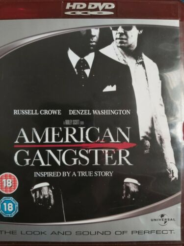 American Gangster (2007) - Denzel Washington  HD DVD