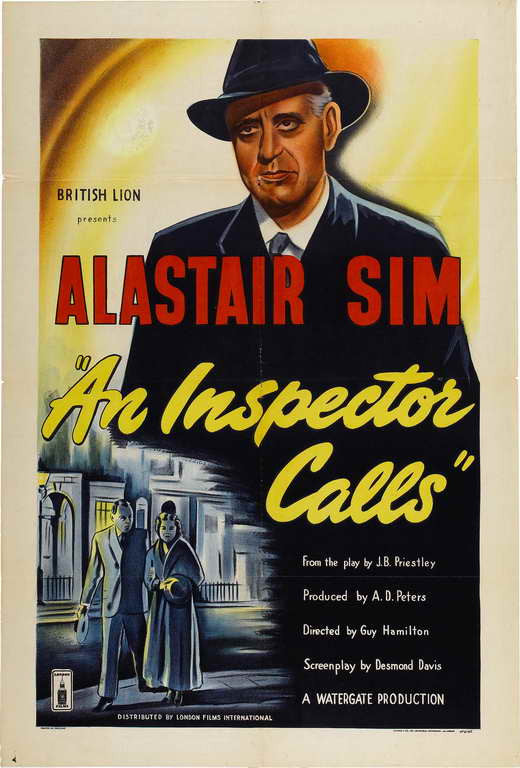 An Inspector Calls (1954) - Alastair Sim  DVD