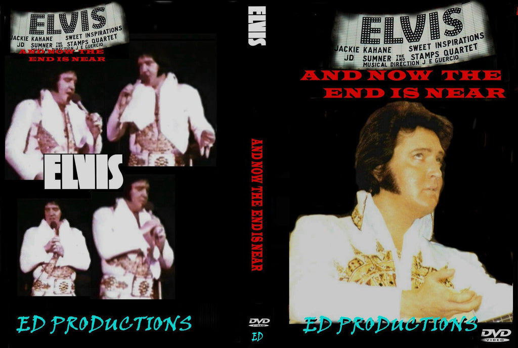 Elvis : And Now The End Is Near - Live On Tour 1977 NEW DVD