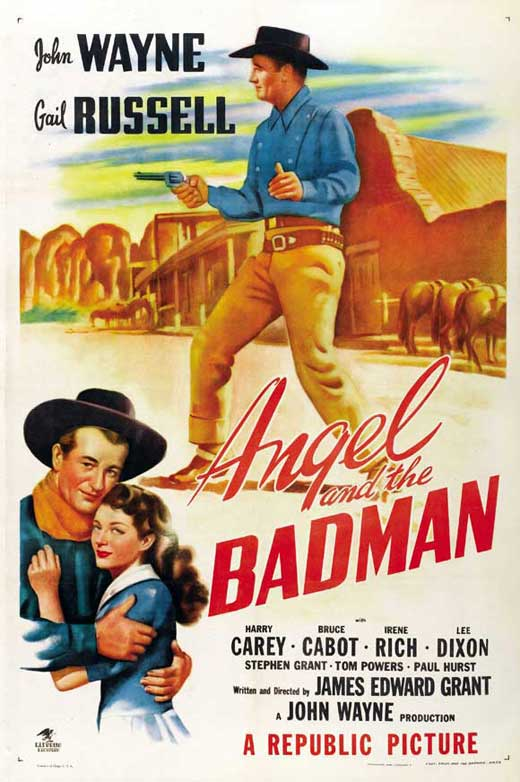 Angel And The Badman (1947) - John Wayne  DVD