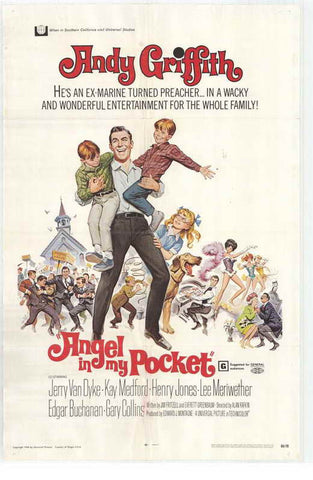Angel In My Pocket (1969) - Andy Griffith  DVD