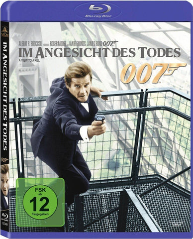 James Bond 007 : A View To A Kill (1985) - Roger Moore  Blu-ray