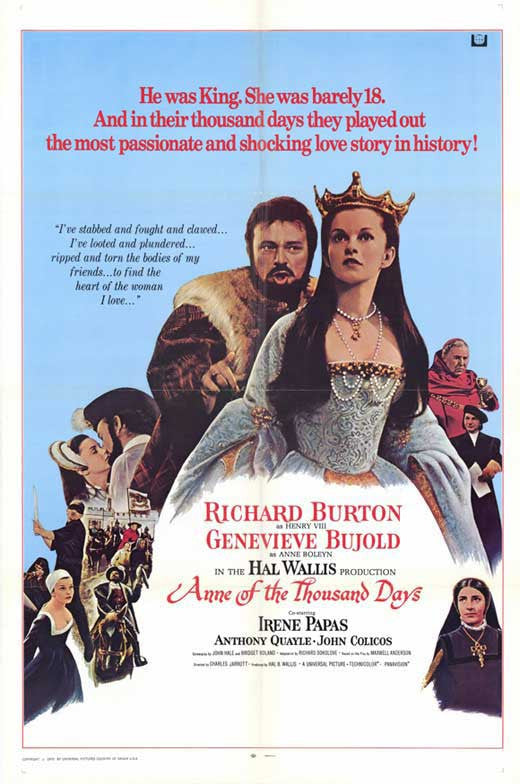 Anne Of The Thousand Days (1969) - Richard Burton  DVD