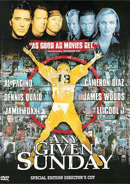 Any Given Sunday (1999) - Al Pacino  DVD