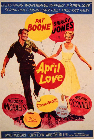 April Love (1957) - Pat Boone  DVD