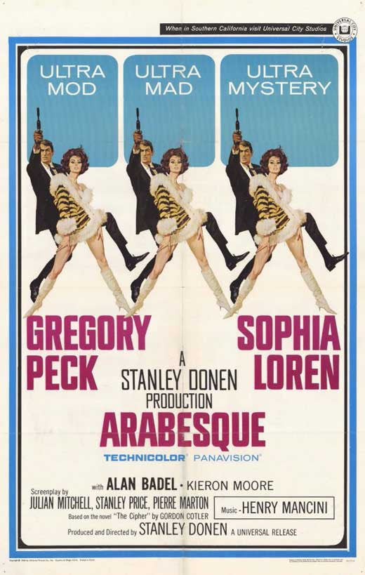 Arabesque (1966) - Gregory Peck  DVD