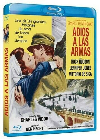 A Farewell To Arms (1957) - Rock Hudson  Blu-ray  codefree
