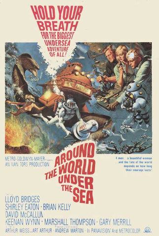 Around The World Under The Sea (1966) - David McCallum DVD