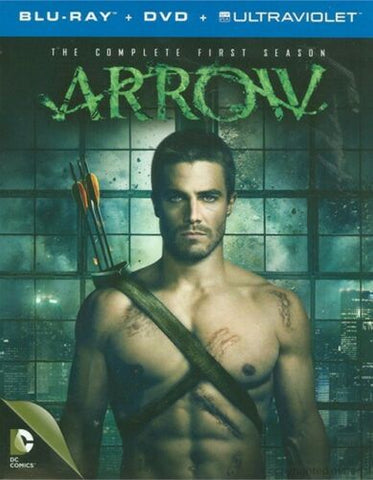Arrow : Complete Season 1 - 4x Blu-ray 5x DVD