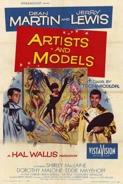 Artists And Models (1955)  DVD