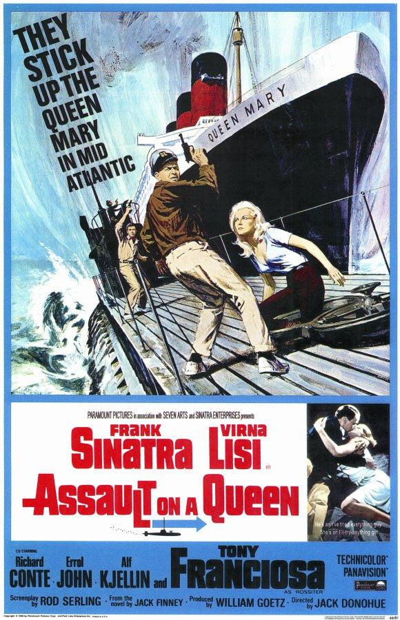 Assault On A Queen (1966) - Frank Sinatra  DVD