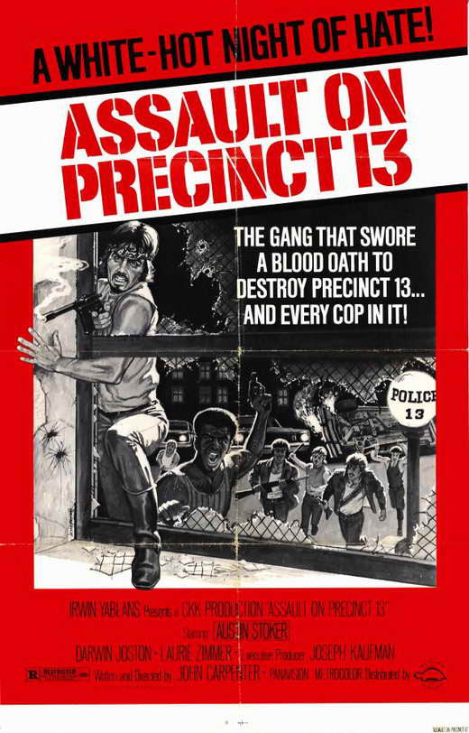 Assault On Precinct 13 (1976) - John Carpenter DVD