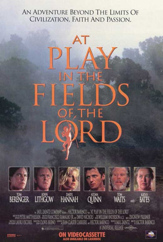 At Play In the Field Fields Of The Lord (1991) - Tom Berenger  DVD
