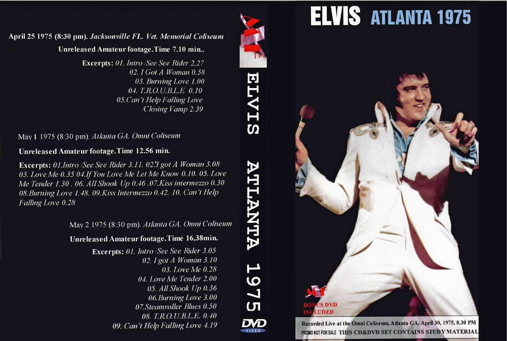 Elvis Rocks Atlanta 1975  DVD