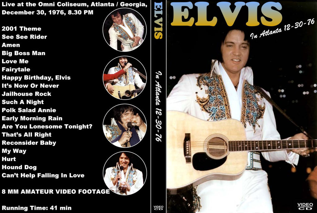 Elvis : Live At The Omni - June 1976  DVD