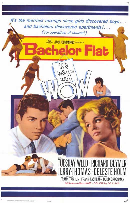 Bachelor Flat (1962) - Tuesday Weld  DVD