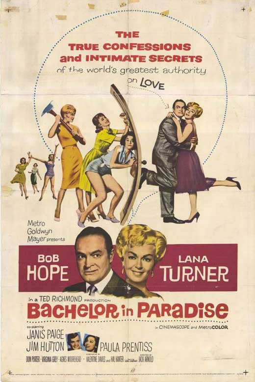 Bachelor In Paradise (1961) - Bob Hope  DVD