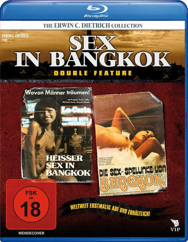 Sex In Bangkok (1976) - UNCUT Double-Feature Blu-ray
