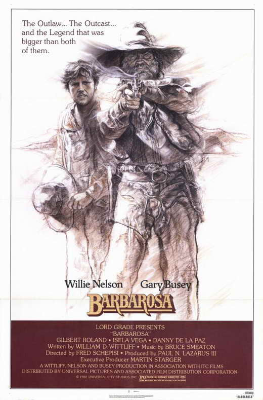 Barbarosa (1982) - Willie Nelson  DVD