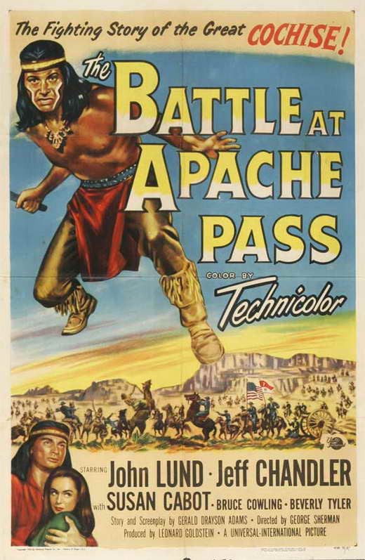 The Battle At Apache Pass (1952) - Jeff Chandler  DVD