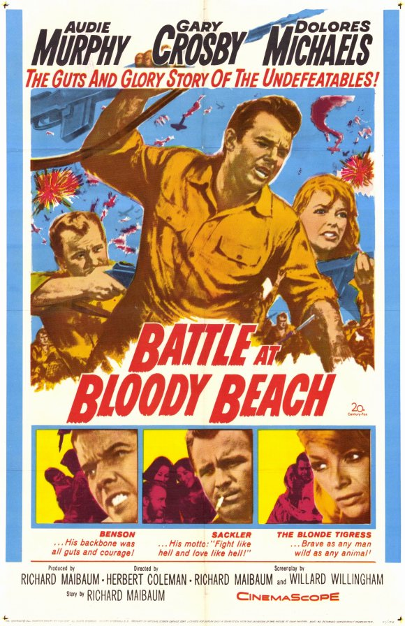 Battle At Bloody Beach (1961) - Audie Murphy  DVD