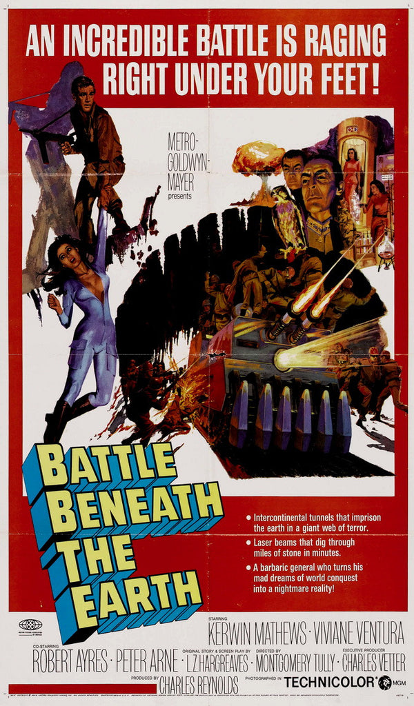 Battle Beneath The Earth (1967) - Kerwin Mathews  DVD