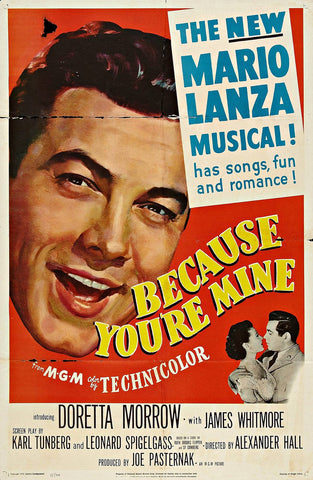 Because You´re Mine (1952) - Mario Lanza  DVD