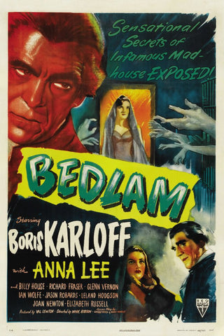 Bedlam AKA Chamber Of Horrors (1946) - Boris Karloff  DVD