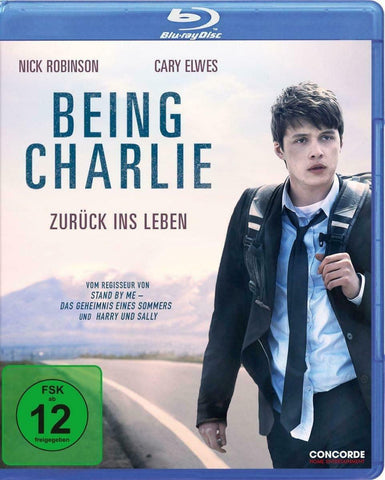 Being Charlie (2015) - Nick Robinson  Blu-ray