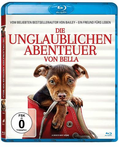 A Dog´s Way Home (2018) - Ashley Judd  Blu-ray