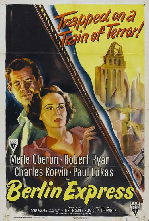 Berlin Express (1948) - Robert Ryan  DVD