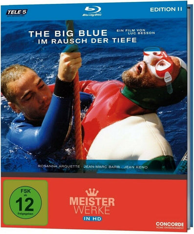 The Big Blue (1988) - Jean Reno   Blu-ray Mediabook