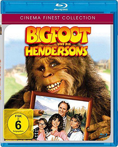 Harry And The Hendersons (1987) - John Lithgow  Blu-ray