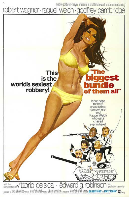 Biggest Bundle Of Them All (1968) - Raquel Welch  DVD