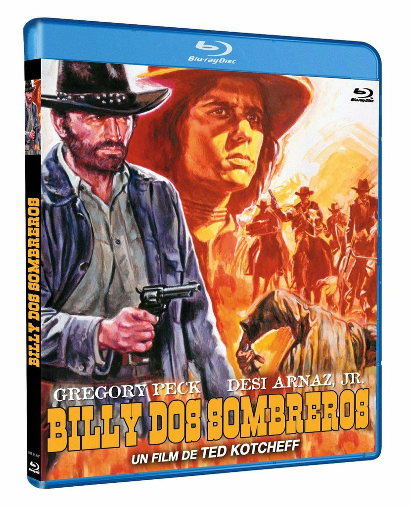 Billy Two Hats (1974) - Gregory Peck  Blu-ray