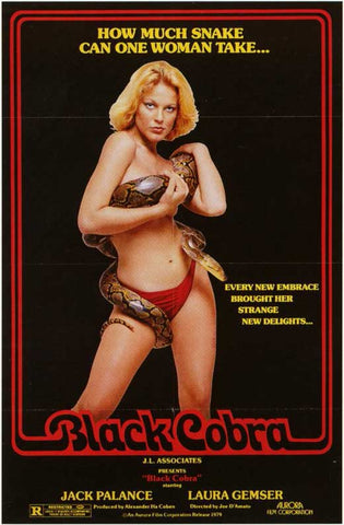 Black Cobra Woman (1976) - Jack Palance  DVD